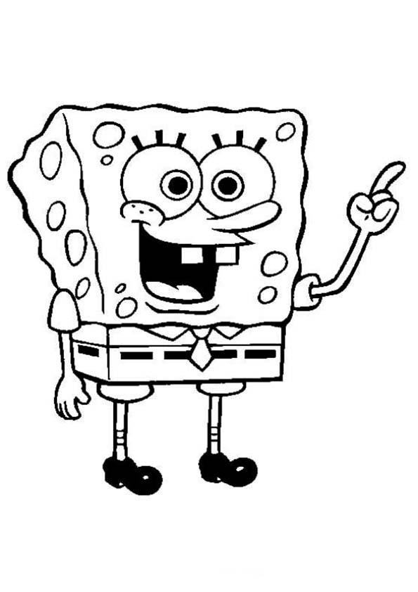 spongebob ausdrucken