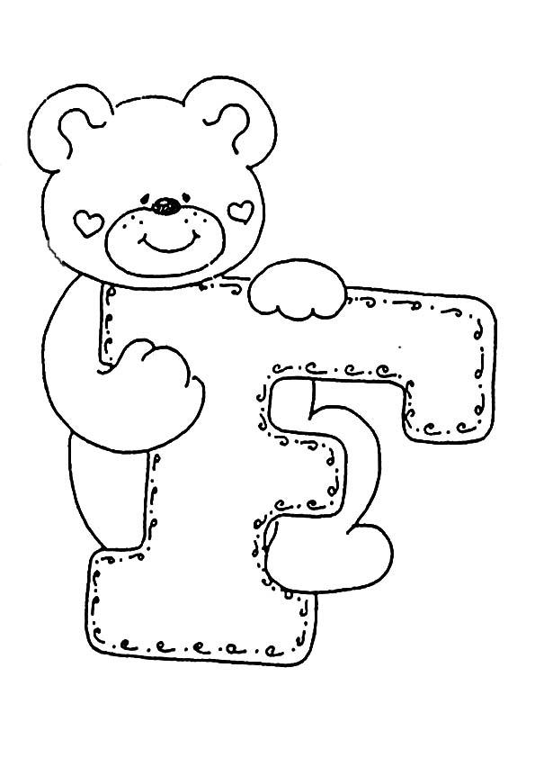 Ausmalbilder Buchstaben F