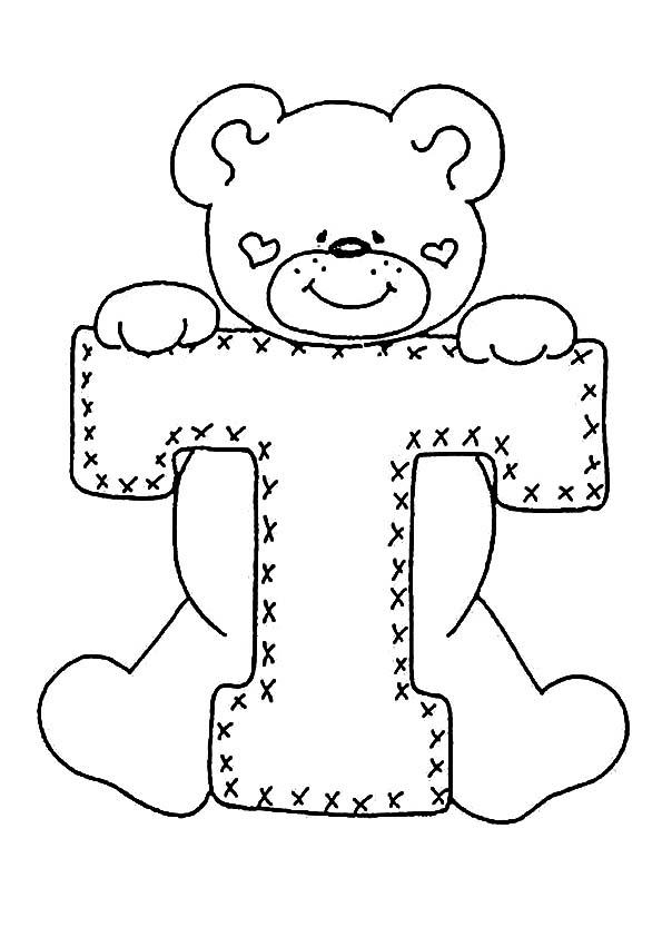 Buchstaben T ausdrucken
