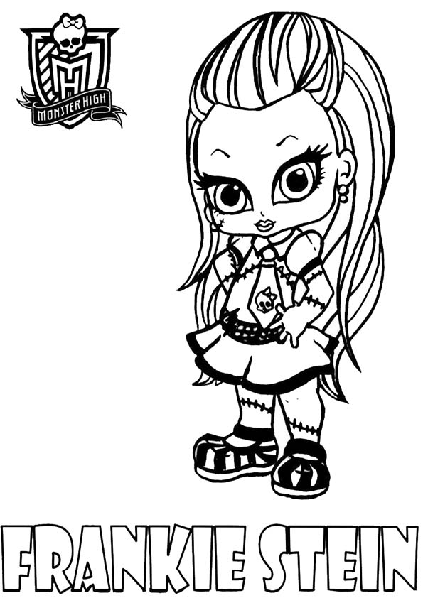 frankie stein baby von monster high