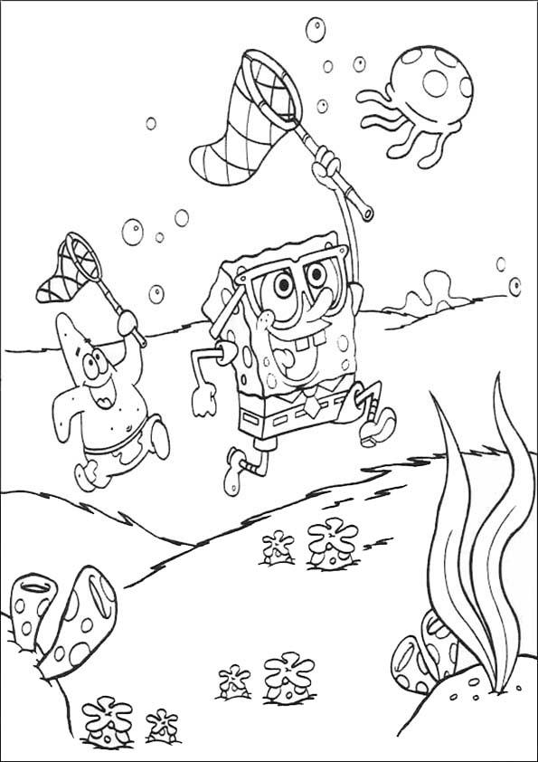 Spongebob und Patrick Star jadg