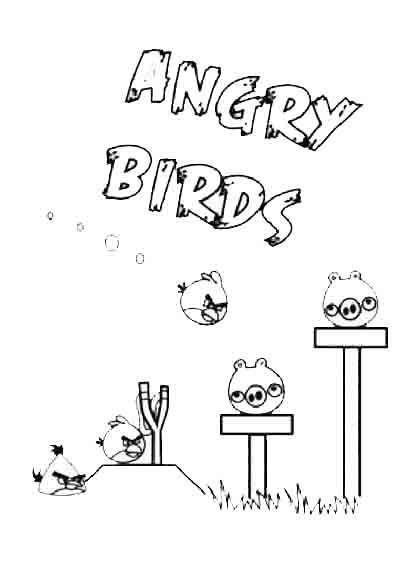 ausmalbilder angry birds 07