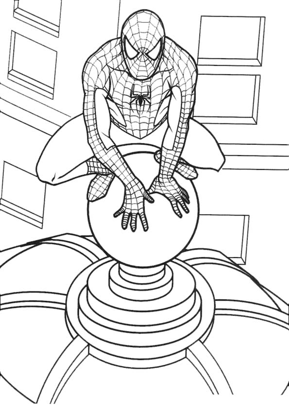 spiderman ausdrucken