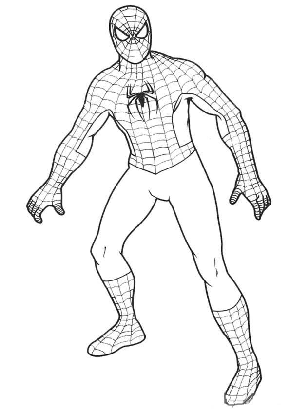 spiderman Stehen