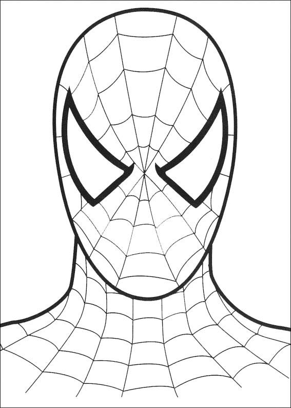 Spiderman Ausmalen 12 Ausmalbilder