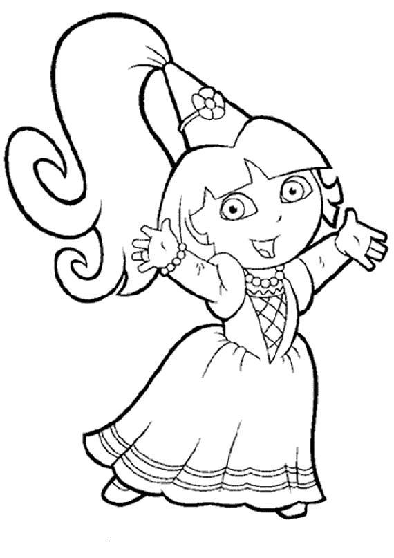 Dora gekleidet als Fee