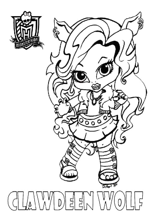 monster high Puppen, clawdeen
