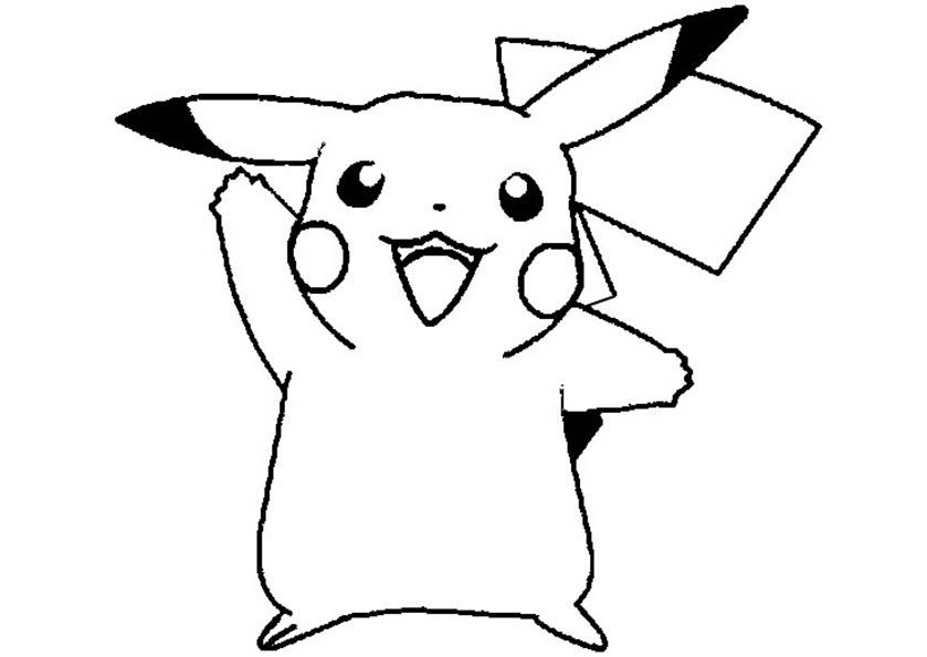 pikachu ausmalen