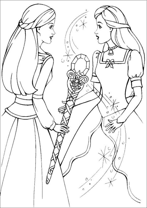 Barbie und ihr Freund Königinnen