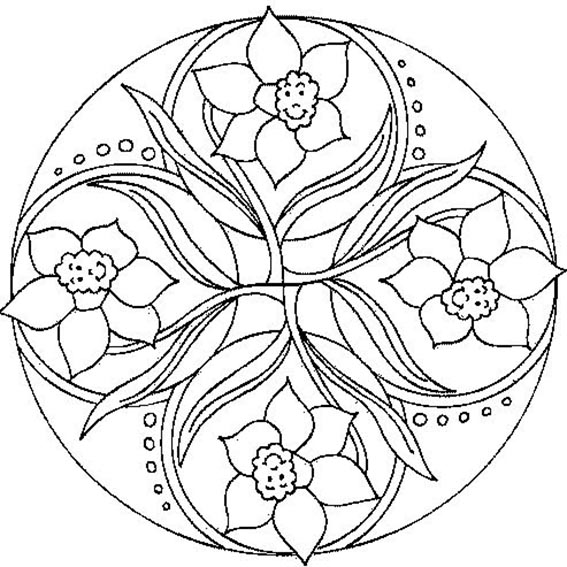 ausmalbilder mandala geburtstag | ausmalbilder