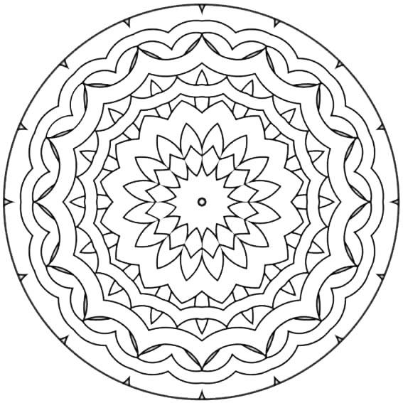 mandalas ausmalbilder