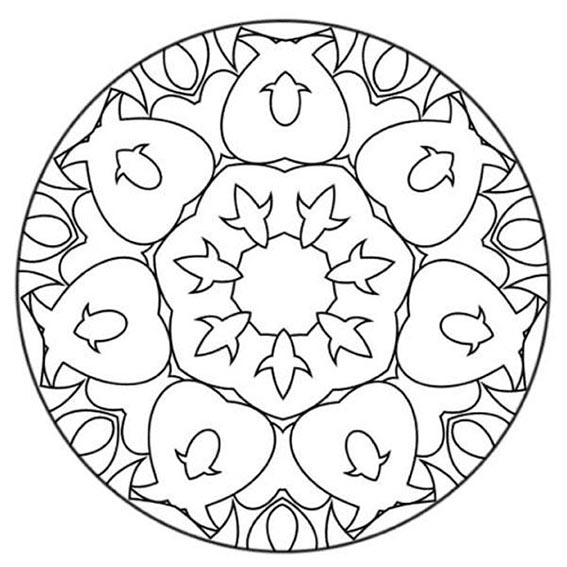 mandala für ausdrucken