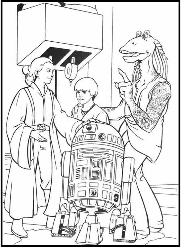 Szene aus Star Wars