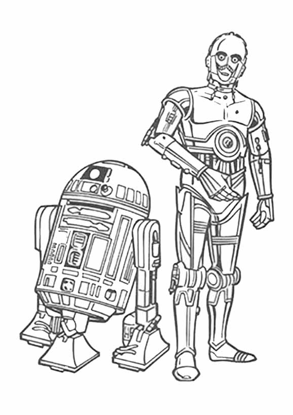 C3PO und R2D2