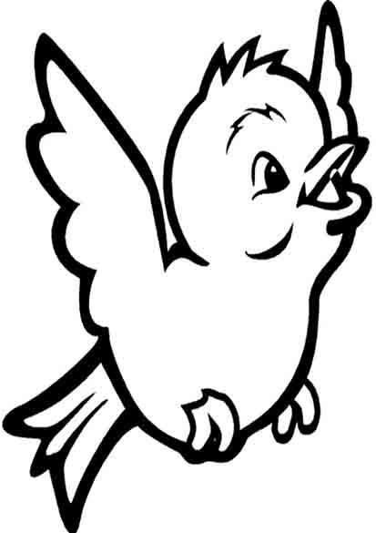 vogel ausmalen