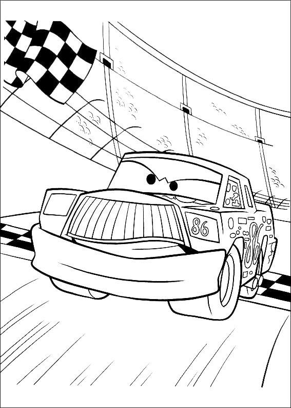 bilder von cars ausmalen