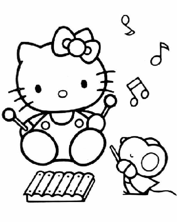 Hello Kitty musik