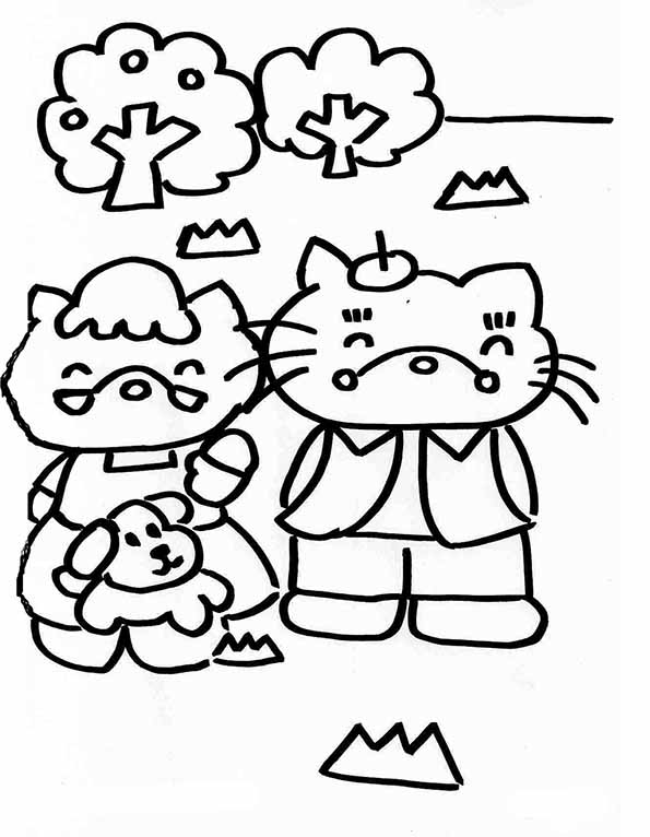hello kitty familie