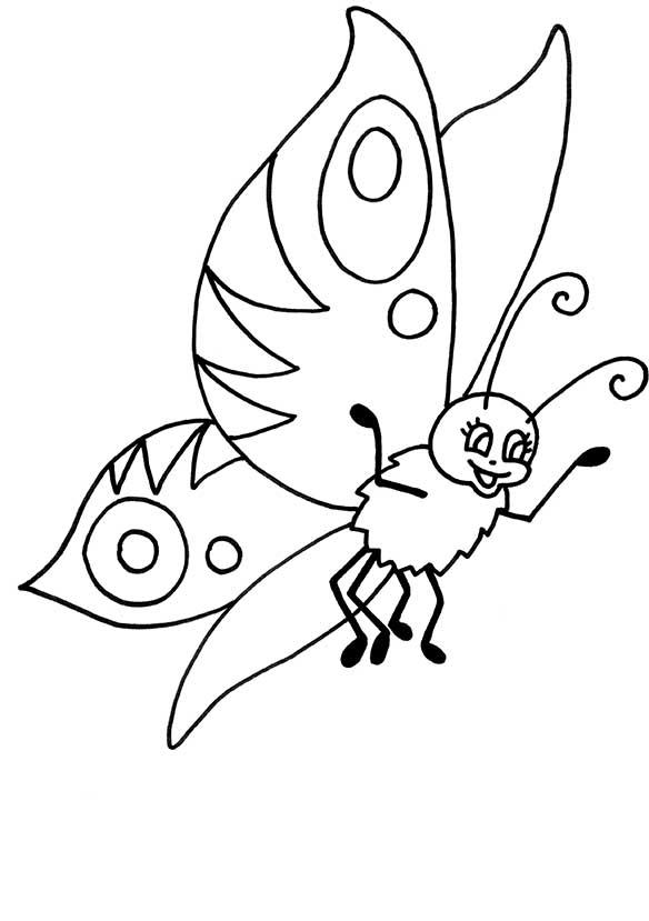 Schmetterling 8 malvorlagen