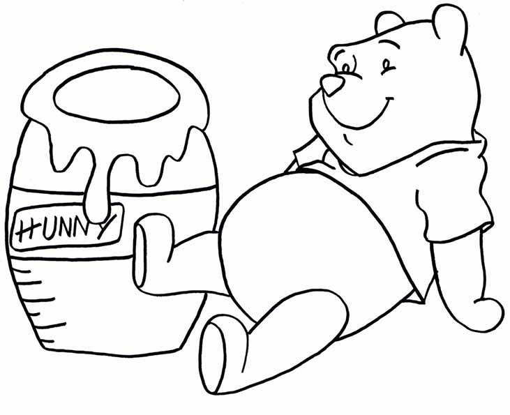 Winnie mit Honig