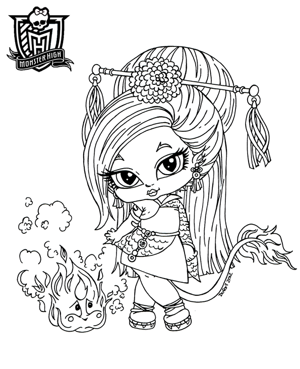 baby enafire von monster high