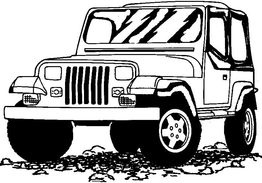 jeep ausmalen