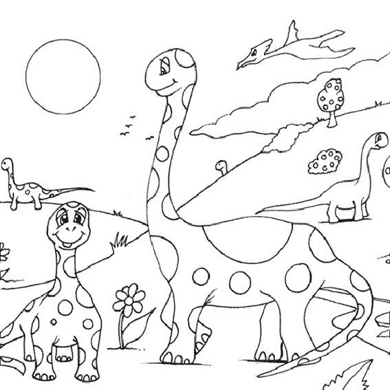 dinosaurier 1 malvorlagen