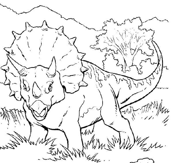 dinosaurier 3 malvorlagen
