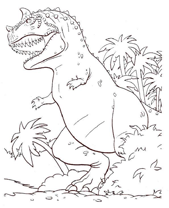 dinosaurier 4 zum malen