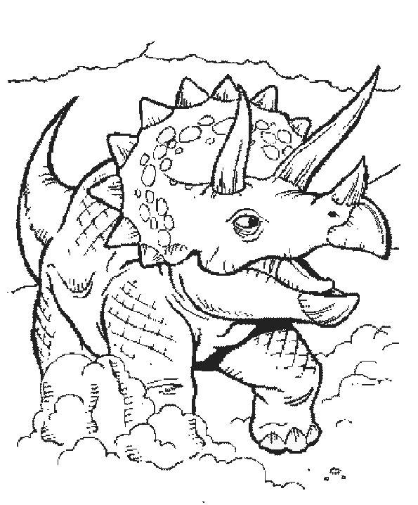 malvorlagen dinosaurier 5