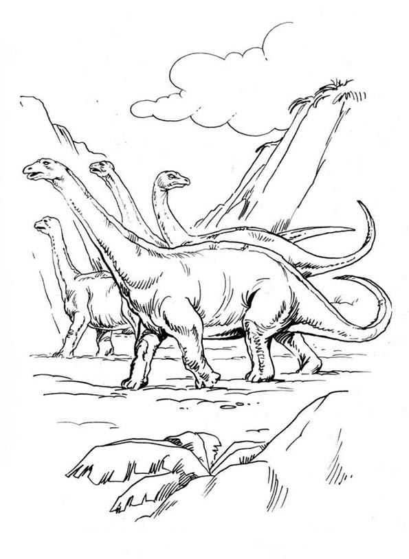 brontosaurier