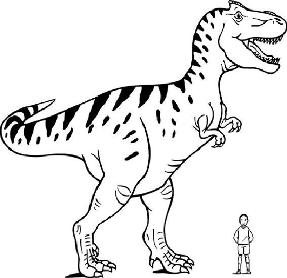 dinosaurier 10 ausmalen