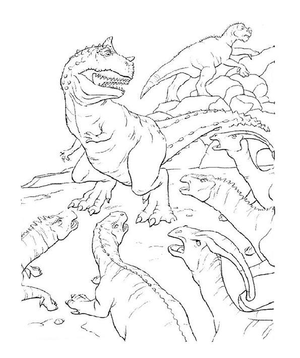 dinosaurier 19 zum malen