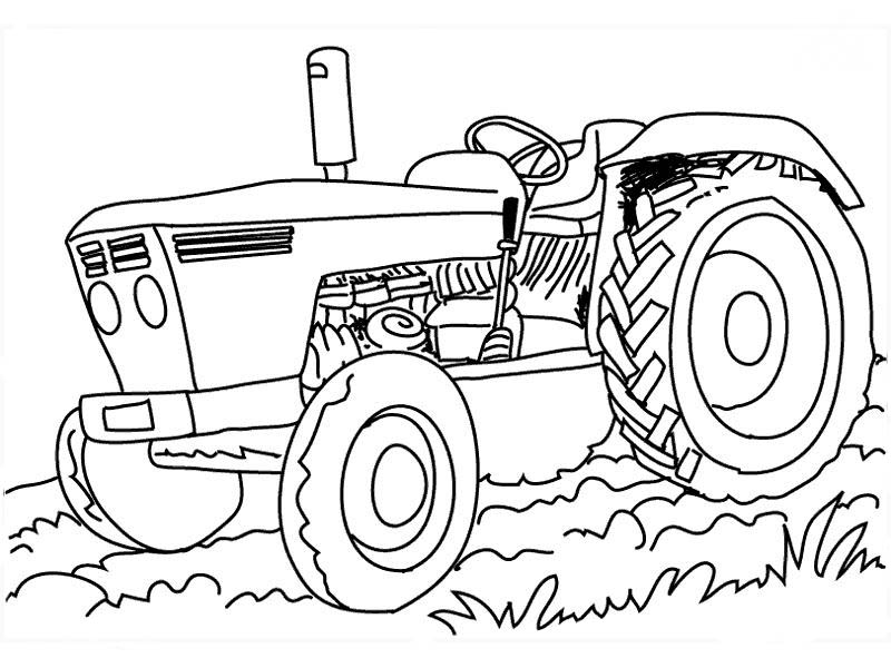 traktor 2 malvorlagen