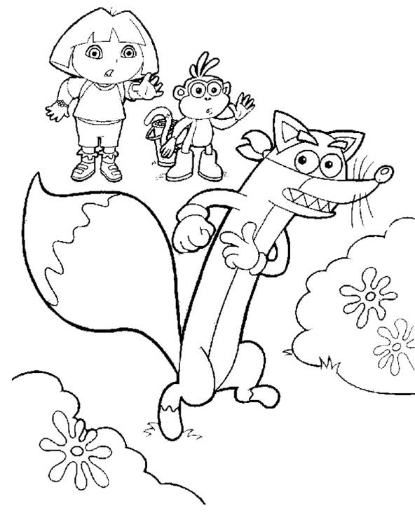 Dora, Boots und Swiper