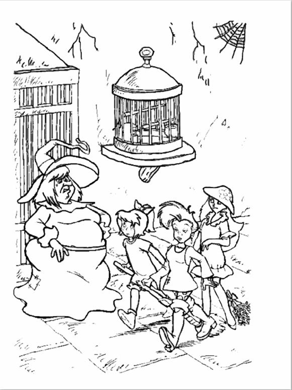 Bibi und seine Freunde mit der Hexe