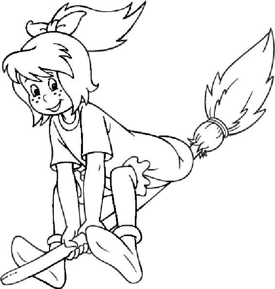 Bibi und ihre fliegenden broom