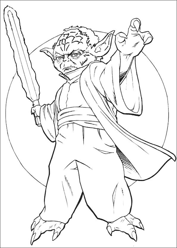 Yoda mit Schwert