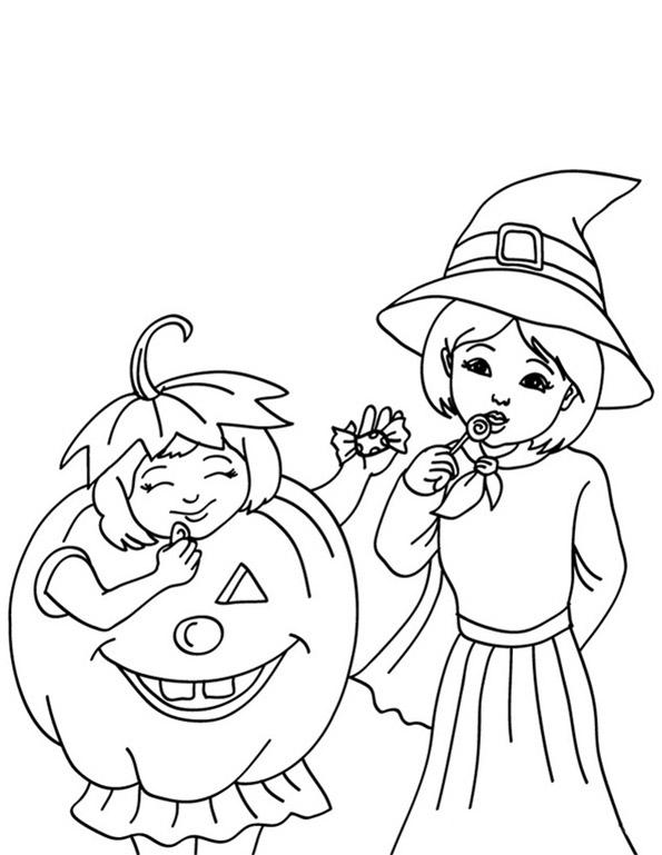 hexen in halloween