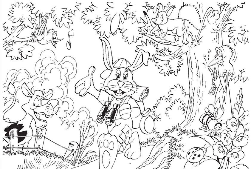Nett Einfache Frühling Malvorlagen Ideen - Ideen färben - blsbooks.com
