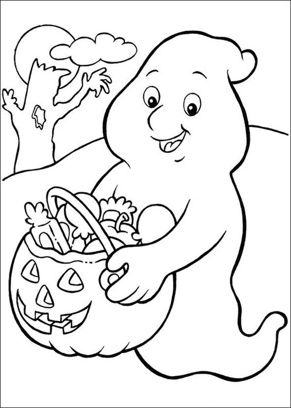 malvorlagen halloween 1