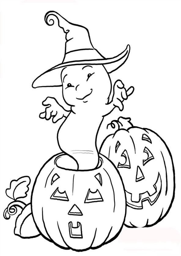 ausmalbilder halloween 2 ausmalbilder