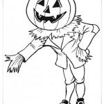 Ausmalbilder Halloween 3