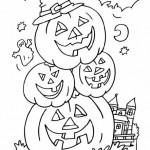 Ausmalbilder Halloween 10