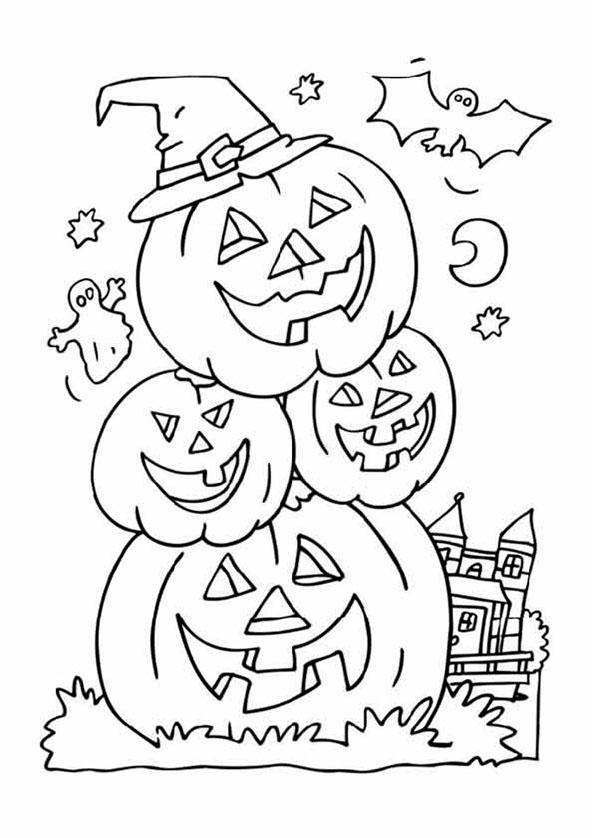 malvorlagen halloween 10