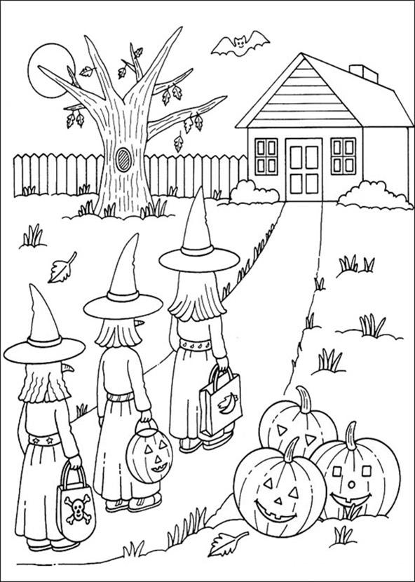 malvorlagen halloween 5