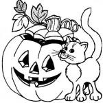 Ausmalbilder Halloween 6
