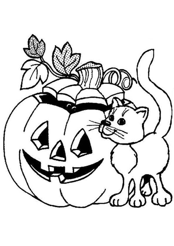 Ausmalbilder Halloween 6 | Ausmalbilder