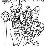 Ausmalbilder Halloween 7