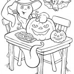 Ausmalbilder Halloween 8